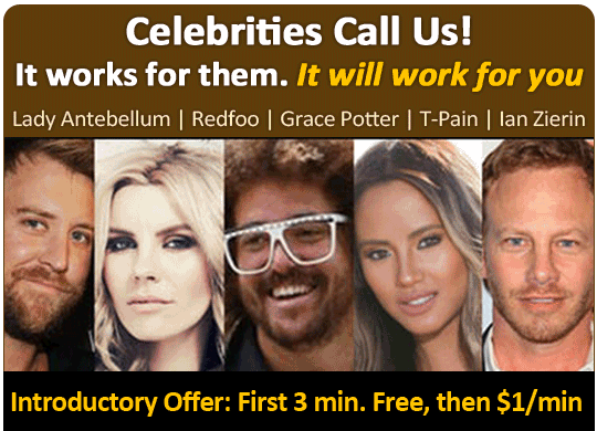 Psychic Celebrities use - AskNow Psychics