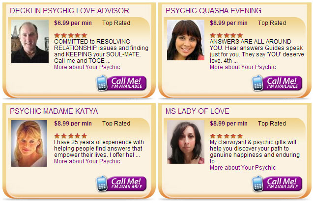 Free Psychic Reading in Canada & Tarot Card Reading | 1-888